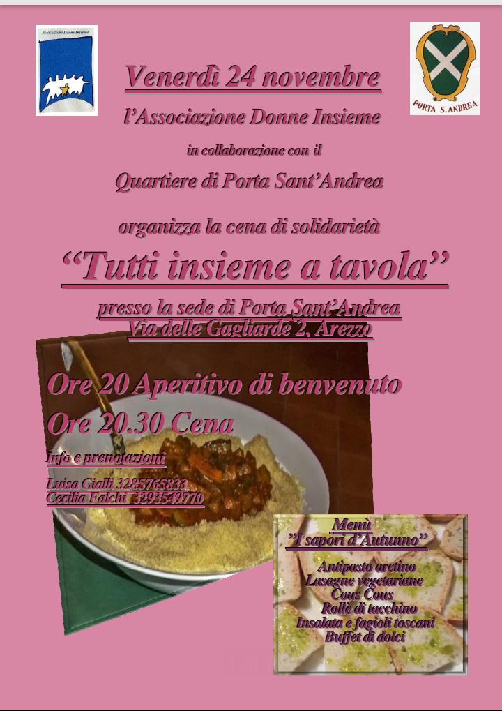 Quartiere porta sant andrea blog archive cena di - Associazione venditori porta a porta ...